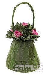Корзинка Поли с розами