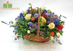 Цветочная корзина Джулия