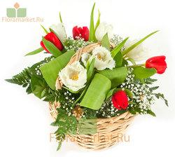 Цветочная корзина «К празднику»