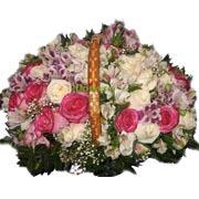 Корзина роз №29