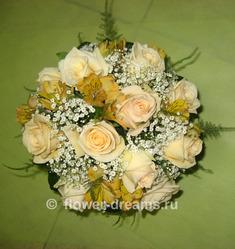 Букет невесты Аврора